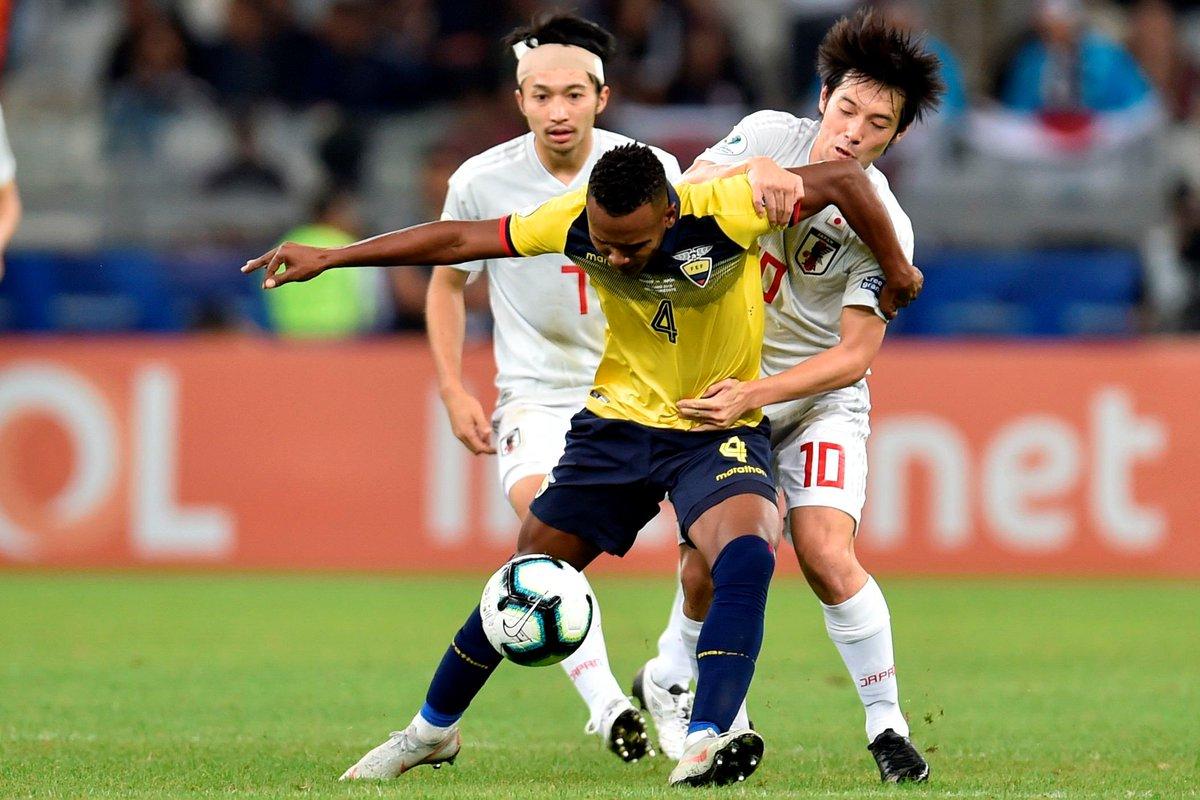 Копа Америка. Драматическая между ничья между Эквадором и Японией в пользу Парагвая - изображение 2