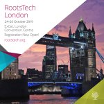 Image for the Tweet beginning: RootsTech London is October 24-26,