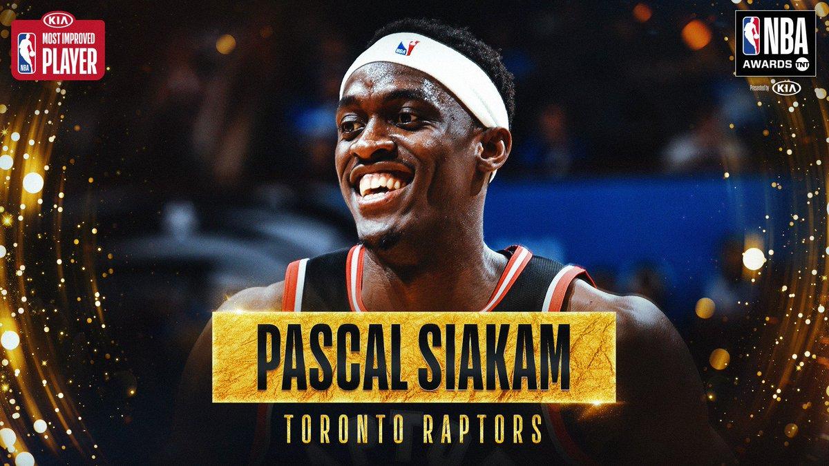 The 2018-19 #KiaMIP is… @pskills43! #NBAAwards