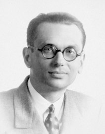 Kurt Gödel, Austrian-American mathematician, 14 January 1978  Suffering from severe paranoia, Gödel only ate food prepared by his own wife. He chose to starve to death after his wife was hospitalised for a few weeks. His body weighed only 29 kg (65 lbs) at the time of his death. <br>http://pic.twitter.com/TOwn0Ph0Jo