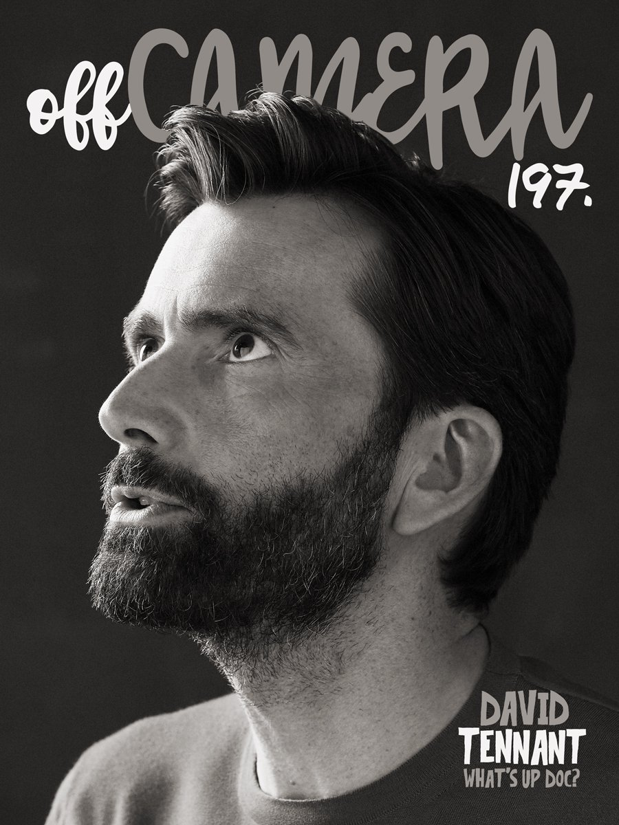 David Tennant's issue of the Off Camera Show Magazine
