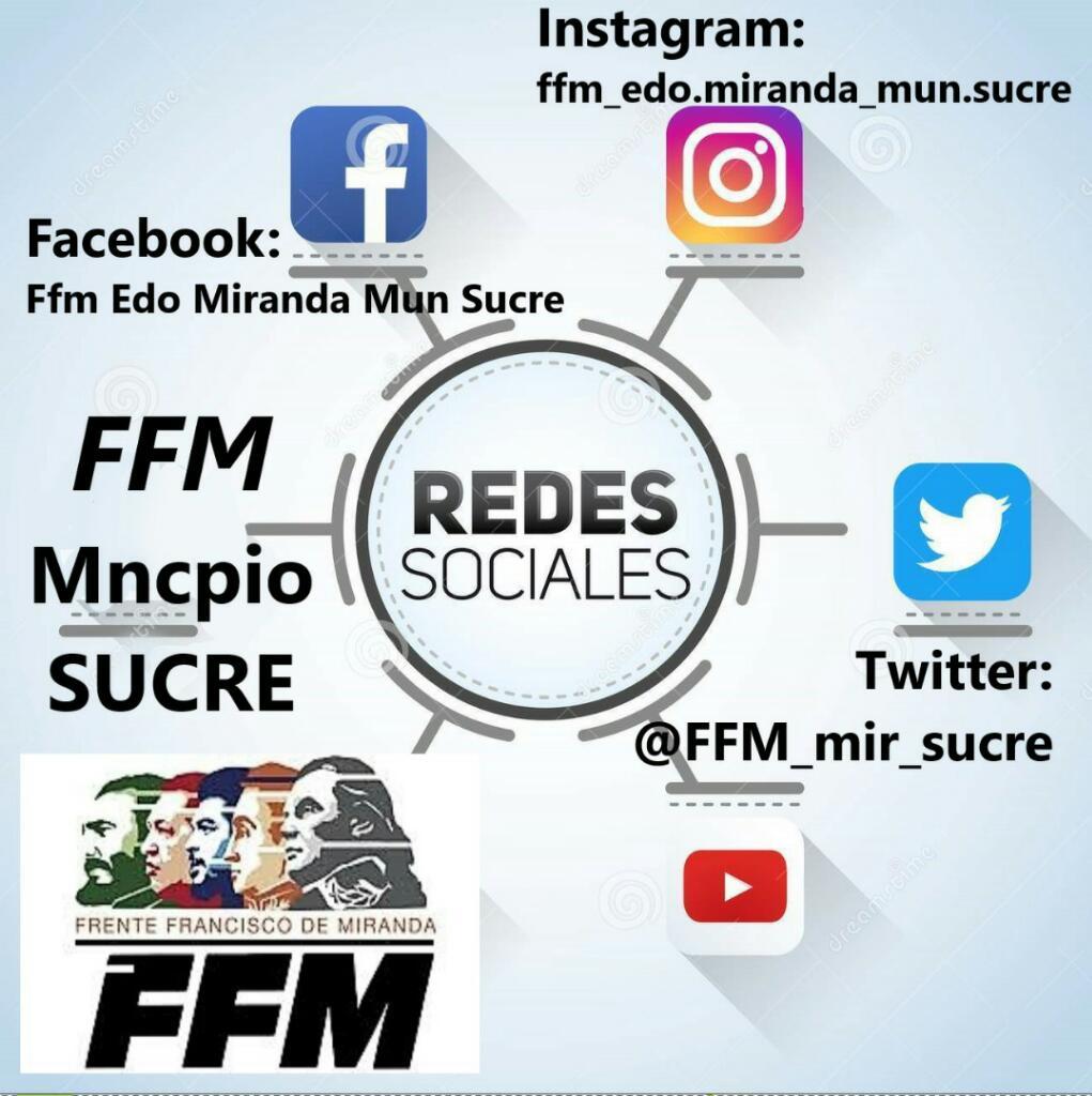 Visita nuestras redes municipio sucre..
