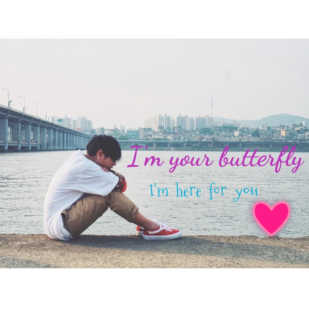 """อยู่ตรงนี้เพื่อเธอไม่ไปไกลแล้วใจจะหยุดทั้งใจไว้ที่เธอ """"I'm here for you"""" #iamhere  #เป๊กผลิตโชค  #PeckPalitchoke"""