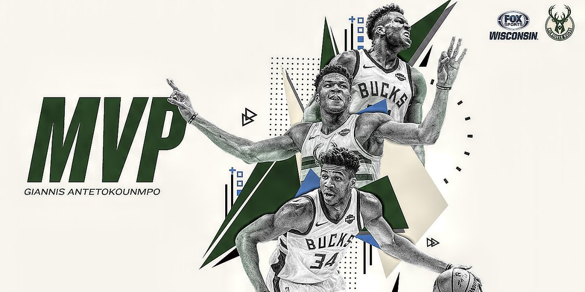 Your 2019 NBA MVP: @Giannis_An34  #FearTheDeer<br>http://pic.twitter.com/qImRNHfJ43