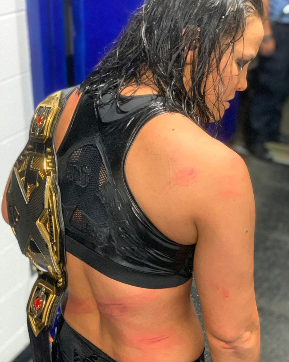 Be careful what you ask for. Because you just might get it. Trapped inside with a ruthless champion with an ax to grind. And trust... she will get revenge for takeover. Don't forget to tap out before you pass out Io. #andStill #Allhailqos #ShaynaTwoTime #Reality