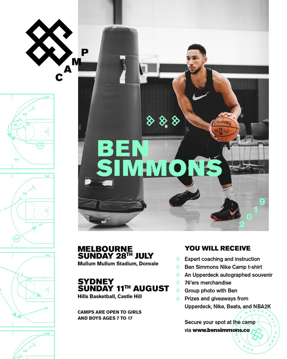 Australia we're back at it! Holding camps this time in both Melbourne & Sydney. Sign up is available through the link in my bio 🙌🏽🇦🇺🏀 See you there