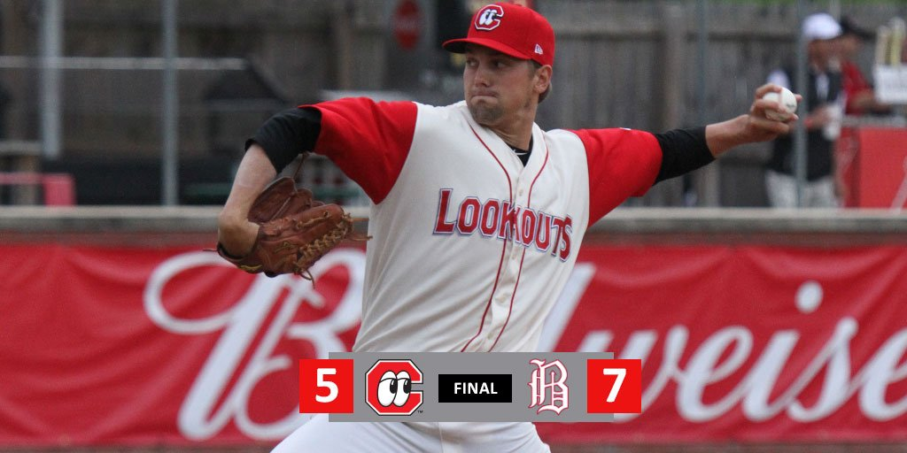 RECAP: Lookouts rally falls short in 7-5 loss. Ibandel Isabel smashes his 17th home run of the year. STORY: atmilb.com/2ZKiKXu