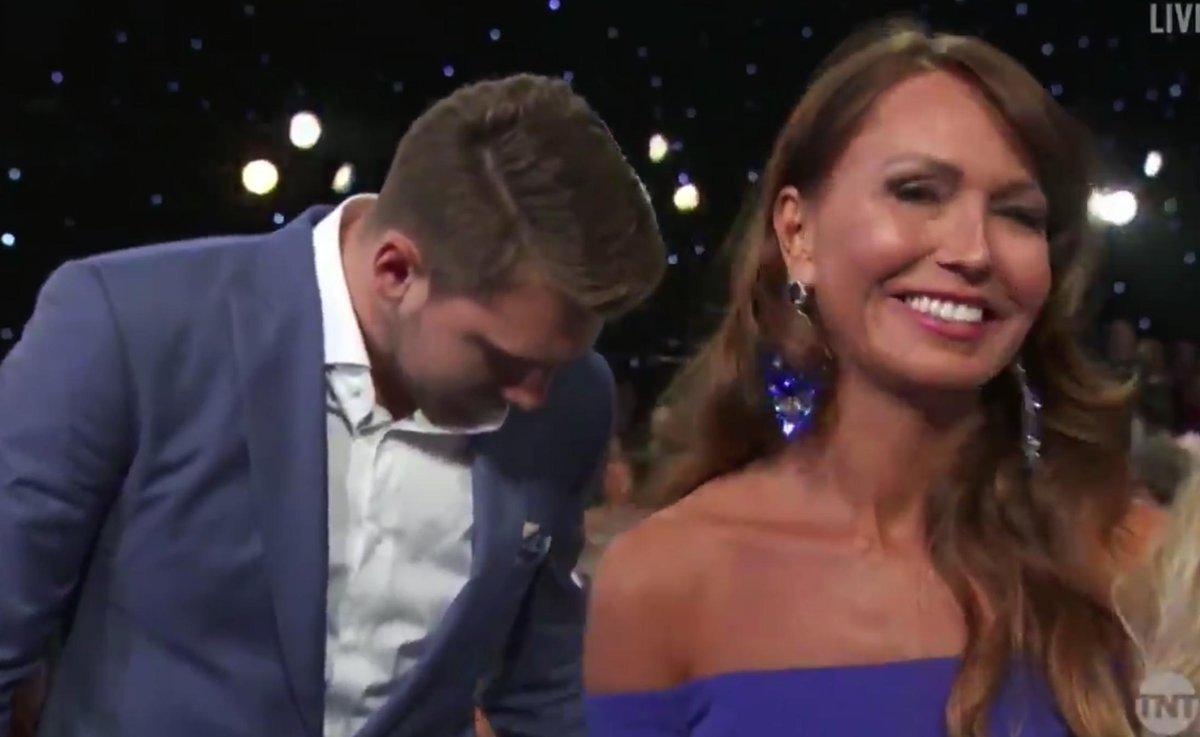 Photos: Luka Doncic's Mom Went Viral At The NBA Awards