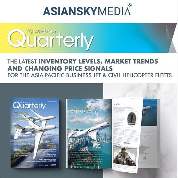 Find out the latest information on the Asia-Pacific pre-owned business jet and civil helicopter markets. Download the Quarterly 2019 Q2 by @AsianSkyGroup at http://ow.ly/dB1E30oZX07   #bizjet #bizav  #privateaviation #privatejet #privateflying #businessaviation
