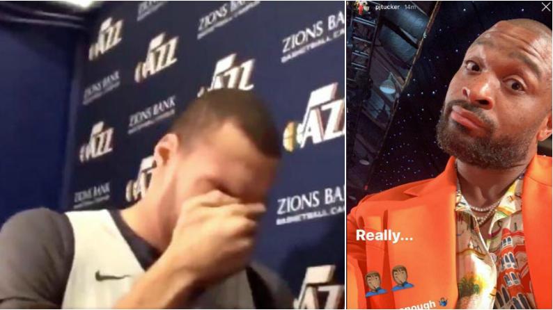 連續第二年獲最佳防守球員,Tucker嘲諷DPOY:如果你哭的夠多的話!-Haters-黑特籃球NBA新聞影音圖片分享社區