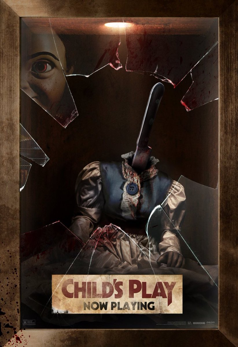 Looks like #Chucky is at war with #Annabelle in this new crossover poster