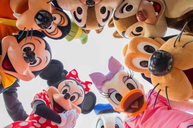 FNS、ディズニーの仲間たちとHey!Say!JUMP これとこれが交わる、つまり、世界的に可愛い そういうことですよね?