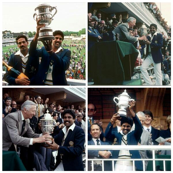 Historical day for indian cricket It was exactly 36 years ago on this day an underdog Indian team leadership by Kapil Dev created history by defeating a West Indies in the final to lift the cricket World Cup.#WorldCup #Kapildev #TeamIndia