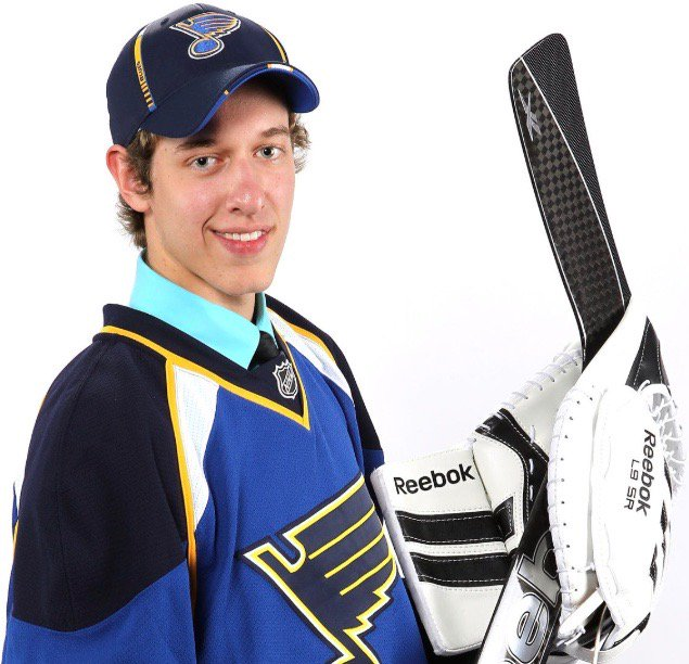 On this day in 2011, the St. Louis Blues selected some 61, 156-pound goaltender named Jordan Binnington with the 88th pick in the draft. I wonder what hes up to these days.