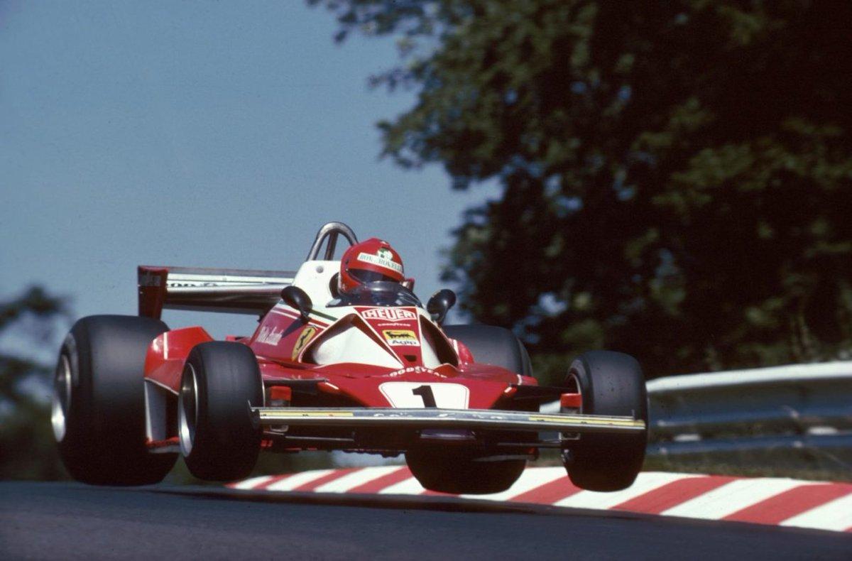 . niki lauda germany 1976 #F1 🏍️🏎️ Andreas Nikolaus Niki Lauda (AUT) (Scuderia #Ferrari), #Ferrari 312T2 - #Ferrari Tipo 015 3.0 F12 (RET)1976 German Grand Prix, #Nürburgring #Nordschleife 📷🎥 🏁lastflag.com/nuvolari/niki-…🏁