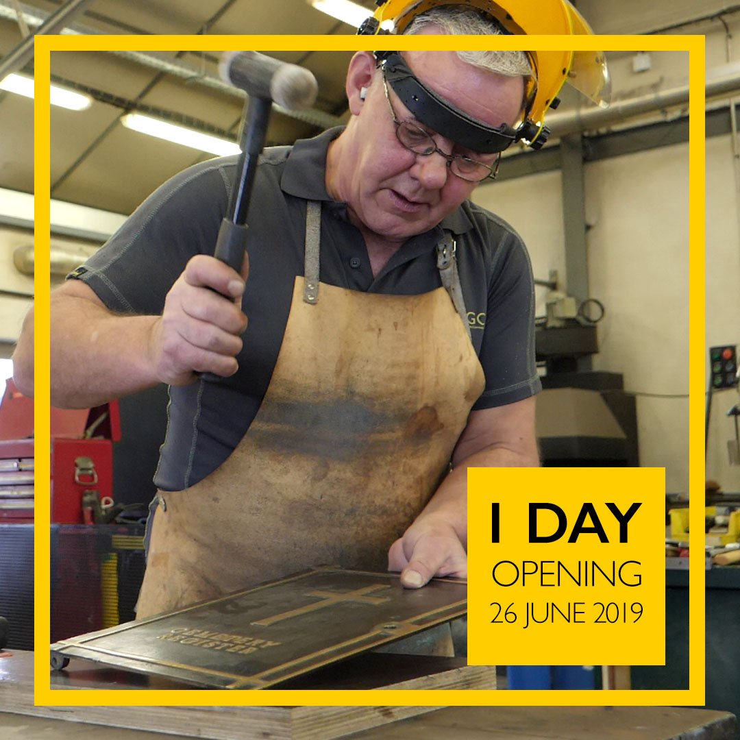 Just one day to go until The CWGC Experience opens to the public! Make sure it is on your list of places to visit in France as we give a behind the scenes look at the work we undertake. Find out more information, and plan your trip, here: ow.ly/bvOr30nS6jq #CWGCexperience
