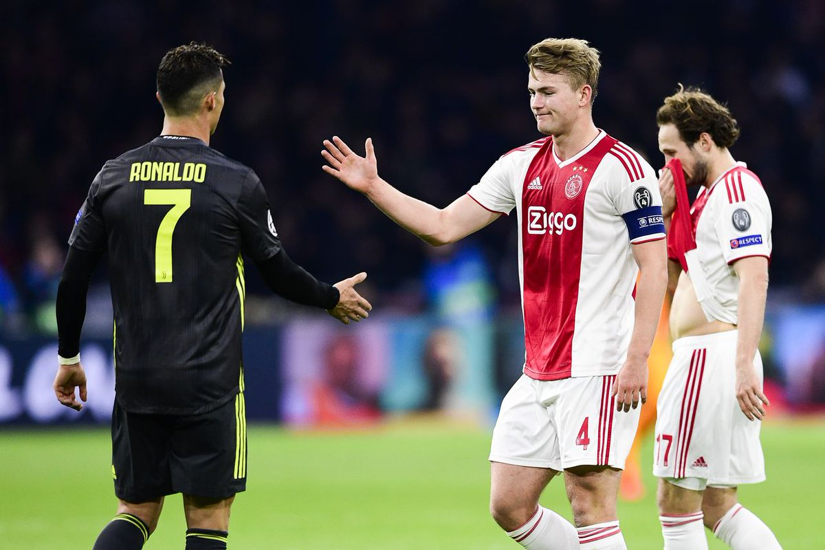 Dutch paper AD confirms move from Juventus for De Ligt. PSG made the same offer but he wants to play with Cristiano Ronaldo.