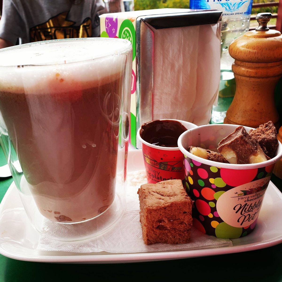 @yarravalleychocolaterie #yarravalley #yarravalleychocolaterie #hotchocolate #chocolate #cold #hotdrink #coldday #yummy #visityarravalley #victoriadiscovers #victoriadiscoversau #ilovemelbourne #view #visitmelbourne #visitmelbs #weekendaway #visitvictoria #visitvictoriaaustralia