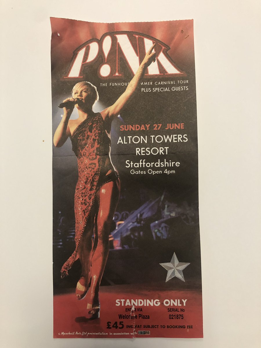 @Pink this weekend 9 years ago went to see pink, today we go again, see you at anfield, #soexcited