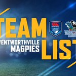 Image for the Tweet beginning: A strong @wentymagpies line up