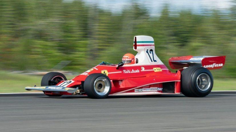 El Ferrari 312T que pilotó Niki Lauda saldrá a subasta bit.ly/2X89qQz