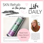 We've been featured by the lovely @katelifedaily - did you spot us?⁣ 💎    ⁣Kate has been trying out our bestselling SKN Filter SPF 30 Cream - find out what she thought about it here: https://t.co/SqIK6gRyxe⁣  #SKNRehab