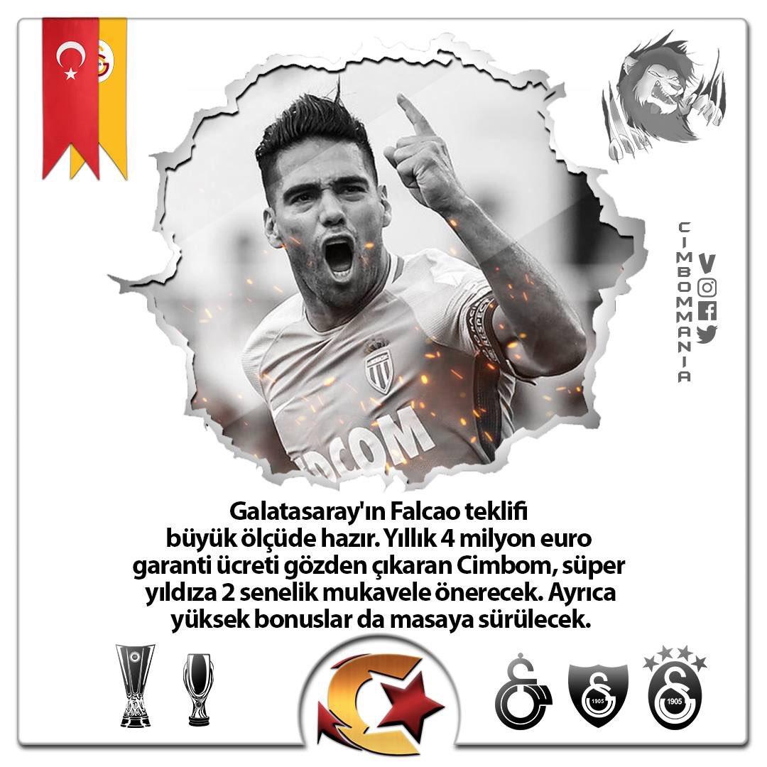 💢Oyuncuyla 1 yıllık sözleşmesi kalan Monaco'nun, Falcao ile anlaşılması halinde zorluk çıkarmayacağı, Şampiyonlar Ligi faktörü nedeniyle Galatasaray'ın bu transferde bir adım önde olduğu öğrenildi...