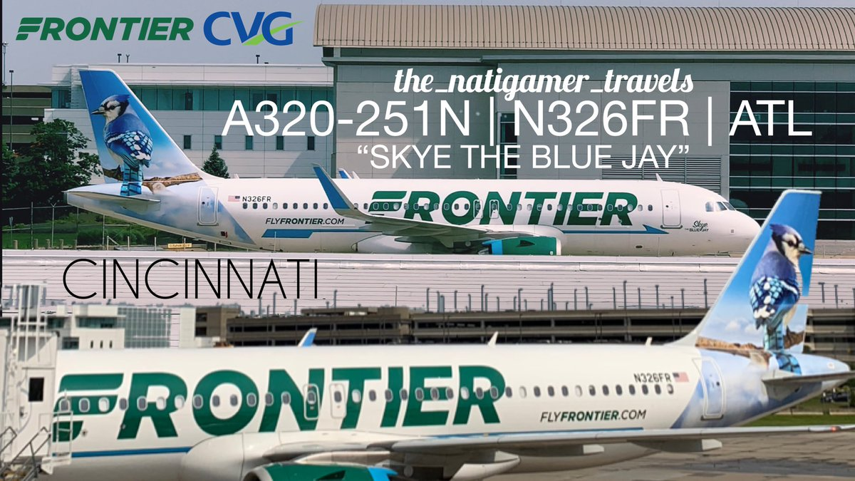 I could sit & watch these @FlyFrontier planes all day long! Always enjoy my favorite airline! @CVGairport #planespotting #avgeek #aviation #planes #airbus #aviationlovers #aviationdaily #aviationphotography #travel #photography #aircraft #a320neo #livery #airport #kentucky