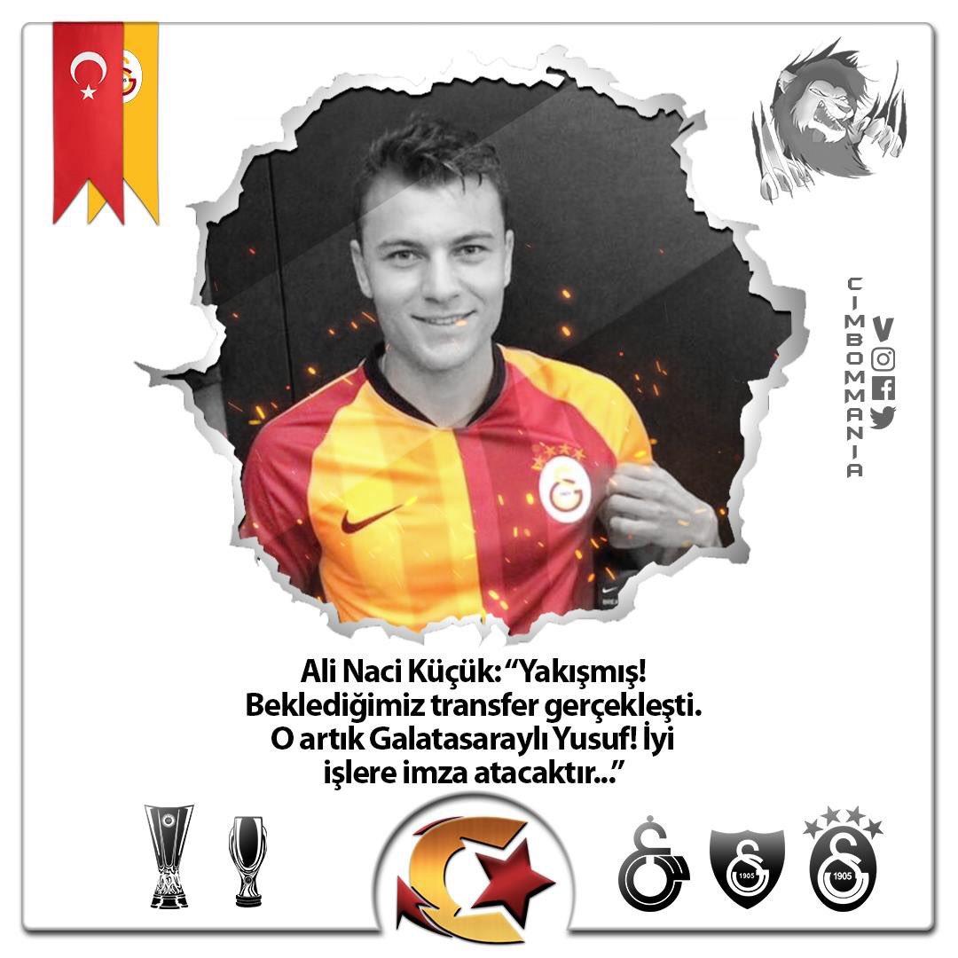 💢Bursasporla yolları henüz resmi olarak ayrımayan Yusuf Erdoğan, bir mağazada Galatasaray forması giydi...