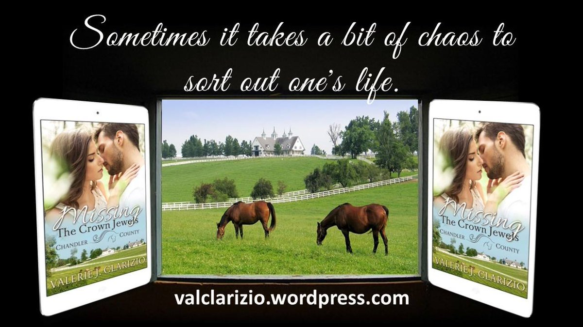 What's not to love about this book? A Kentucky horse ranch, a troubled vet who's hopelessly in love with his best friend's sister, and a woman who isn't afraid to fight for what (who) she wants. ~Amazon reviewer~  #kentuckyderby #usatodaybestsellingauthor  https://www.amazon.com/Missing-Crown-Jewels-Chandler-County-ebook/dp/B06WRN6N8Y…