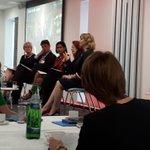 Image for the Tweet beginning: Expert panel @BAESystemsAir skills event.