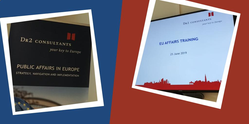 The #EUAffairsTraining has started! Our experienced trainers, @Juliette_Bltn, @nielsvdouden and @LucaCassetti will show our participants the ins and outs of the #EU and a special focus will be given to the outcome of the #EUelections2019. #PublicAffairs #PA #PAtraining #elections