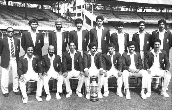 The turning point of India's cricket. Remembering the heroes of #1983WorldCup <br>http://pic.twitter.com/8ji2OAqMrK