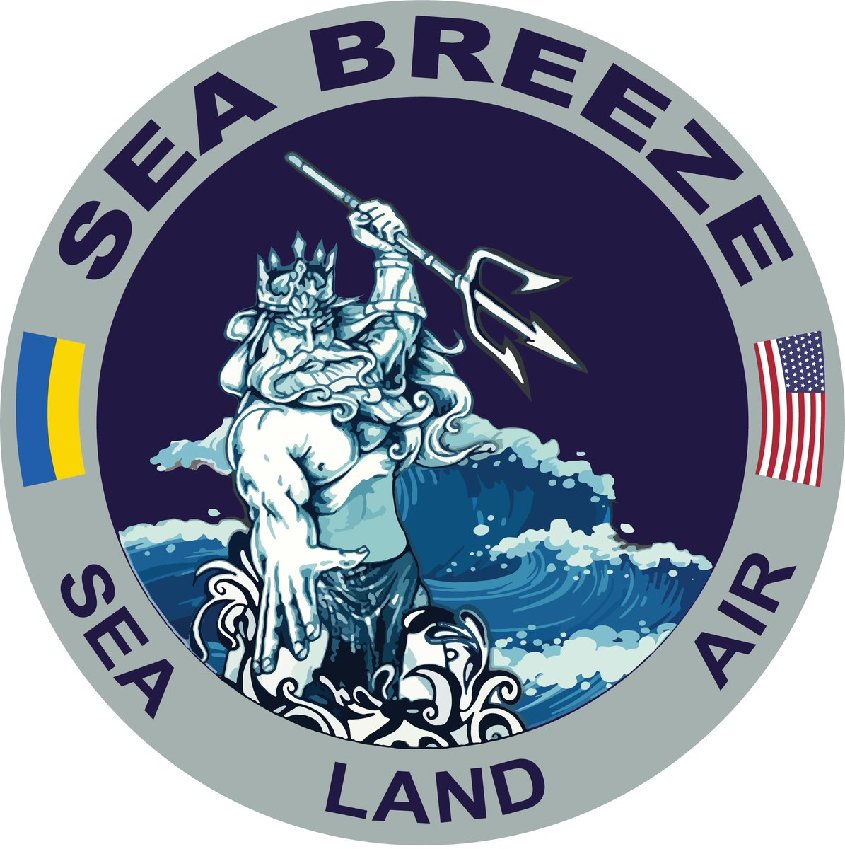U.S Navy 6th Fleet Decal Sticker