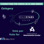 14 Interreg projects have been shortlisted for the finals of the Category 2 #RegioStars2019 awards. Find out more about how Interreg connects the green, blue and grey (and 🗳️ vote for your favourite to be in the finals! 🗳️) here:  https://t.co/m3eqNpffff