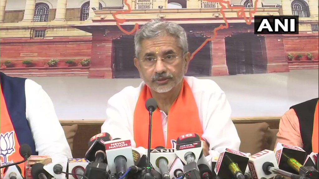 External Affairs Minister Subrahmanyam Jaishankar on reports of Antigua revoking Mehul Choksis citizenship: I do not have information on the matter, I would not like to comment on it.