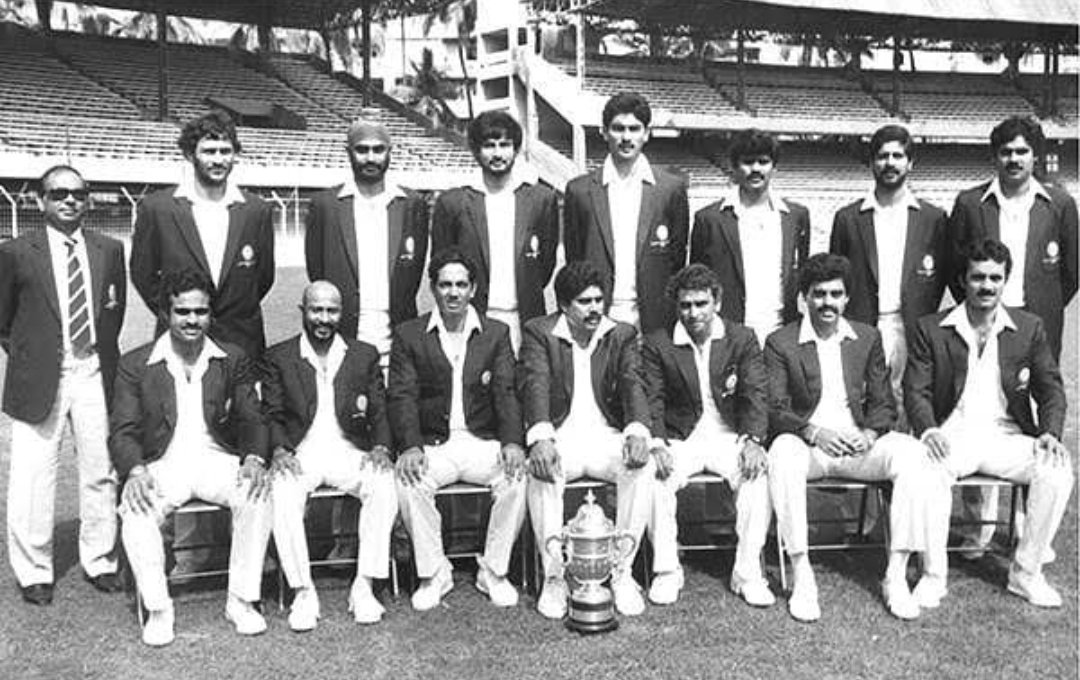 Its has been 36 years when we lifted the #WorldCup1983That win brought a revolution in India and a reason why cricket is celebrated like a festival. Thank You to all the players. And it wouldn't had been possible without #KapilDev #IndianCricket @BCCI