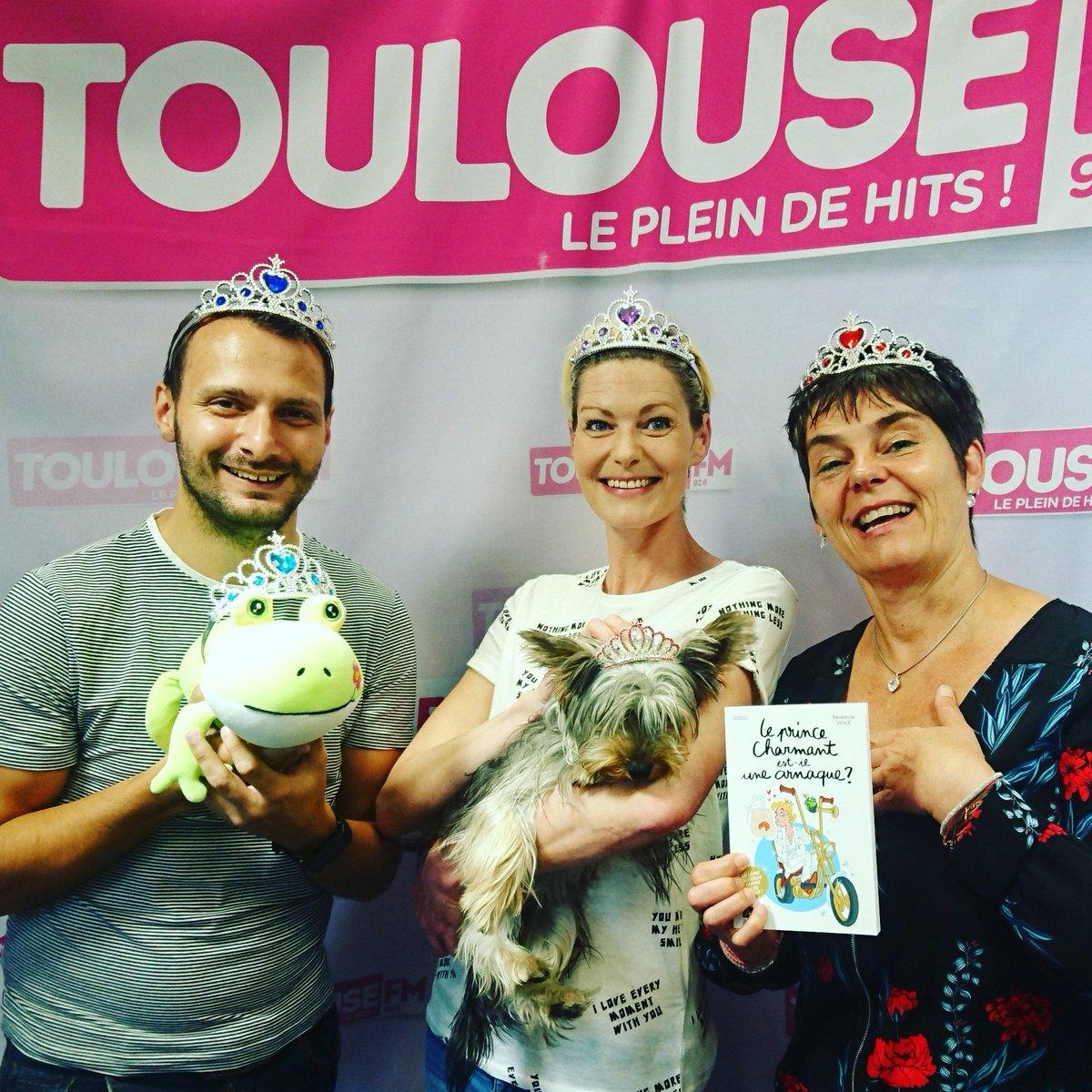 """Le 📖 """"Le prince charmant est-il une arnaque ?"""" sur @ToulouseFM   avec Max ♥ et Caro 💋de la #botchlife"""