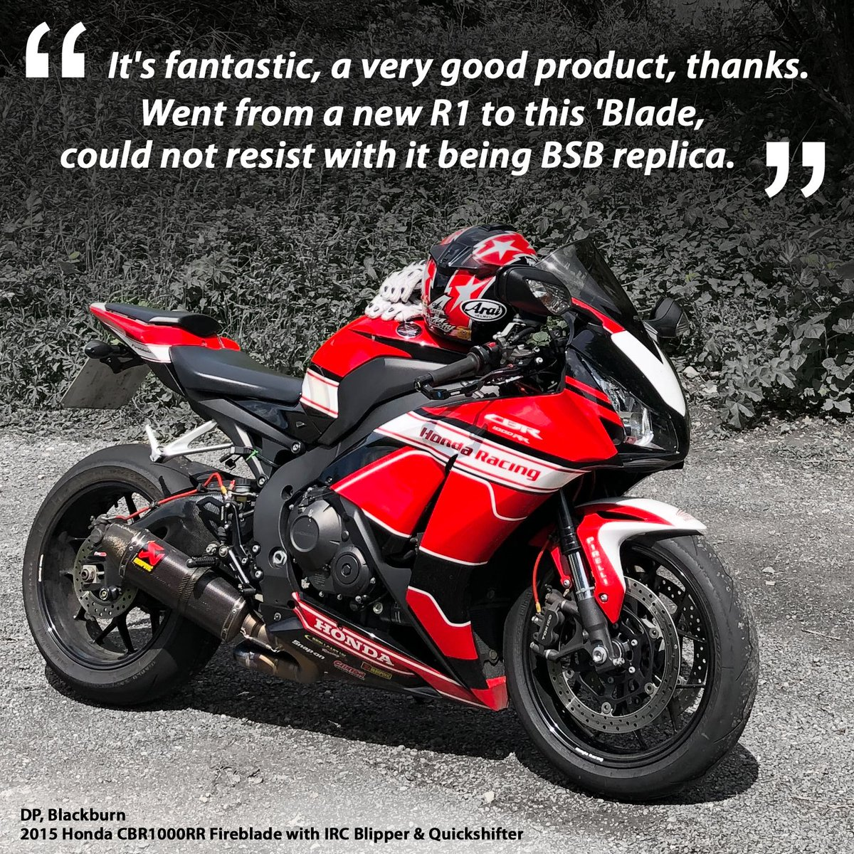 Gain super-quick, fully-automated, blipped and entirely clutchless downshifting on your #Fireblade by simply pressing your gear lever, as normal.  http://www. bikehps.com/acatalog/Mecha nical-Downshift-Blipper.html  …   #CBR1000RR #CBR1000RRFireblade #FirebladeCBR1000RR #HondaFireblade #HondaCBR1000RR #HondaCBR1000RRFireblade<br>http://pic.twitter.com/qWkheHLyEF