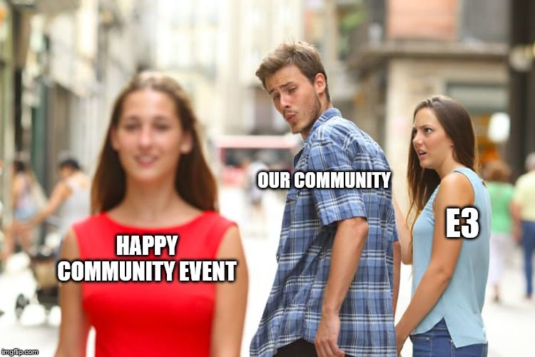 HAPPY COMMUNITY EVENT, this FRIDAY 3pm to 9pm UTC #videogames #streamers #twitchstream #gamedev #IndieGameDev #players #GodotEngine #gamedesign #MSI2019 #playstation5 #E32019