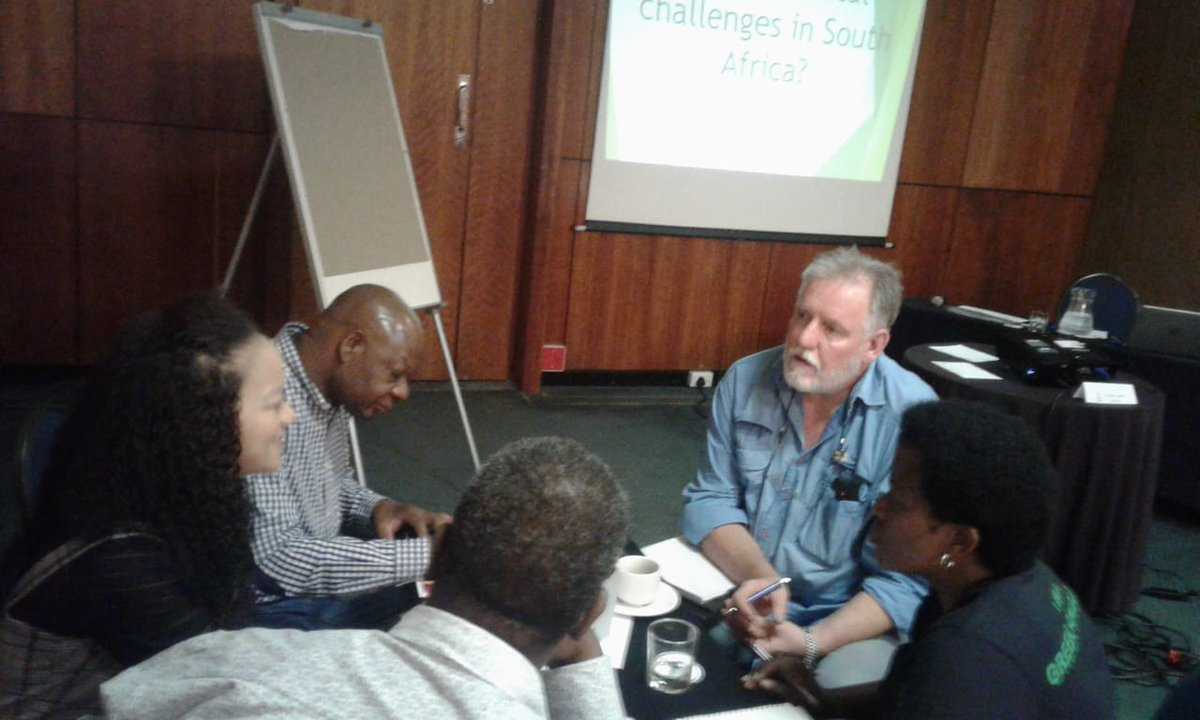 #FLEATSA group discussion 'What are the environmental challenges facing South Africa?'