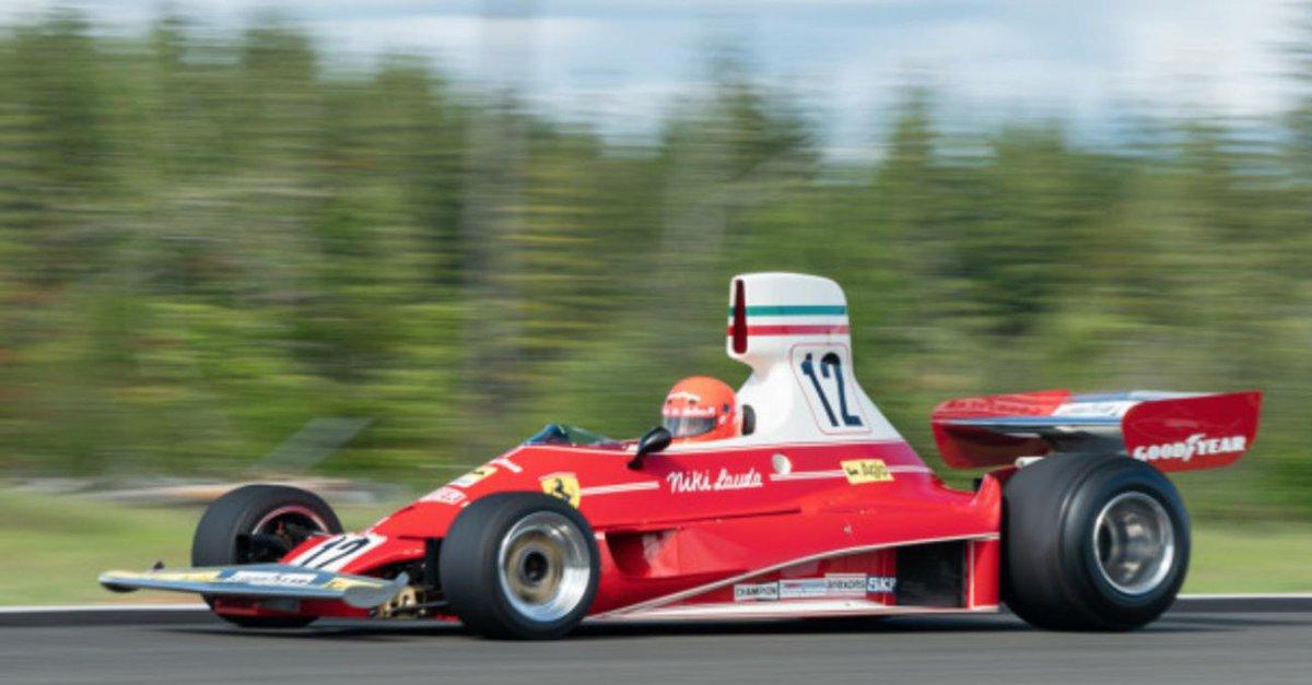 ¿Comprarías el Ferrari de Niki Lauda a subasta por unos 6 millones de euros? is.gd/KboM0J #Ferrari #Actualidad