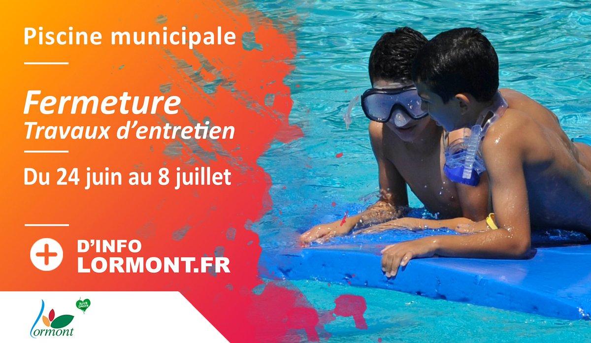 La #piscine municipale de #Lormont est actuellement fermée pour #travaux d'entretien. Mais elle rouvrira dès le 8 juillet pour tout l'été ! ☀️☀️ #Gironde #baignade #activité #animation #entretienannuel https://t.co/bWp20wER9b