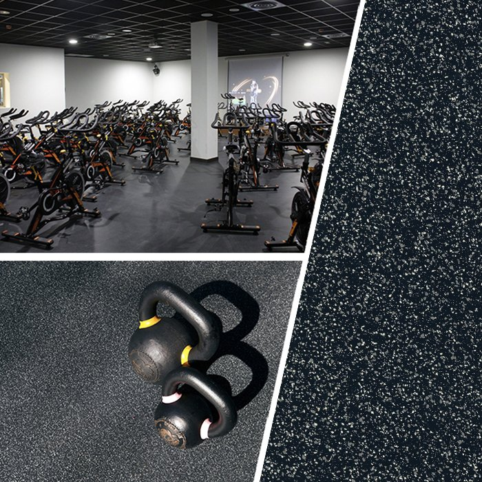 Build a perfect environment to lift and drop loads without compromising your equipment. With its unique surface, our #RubberFlooring, does not show marks from free weight falls, yet its smooth texture makes it very easy to clean and maintain! - https://t.co/RK35MwJW3h https://t.co/NBuU9k3dUk