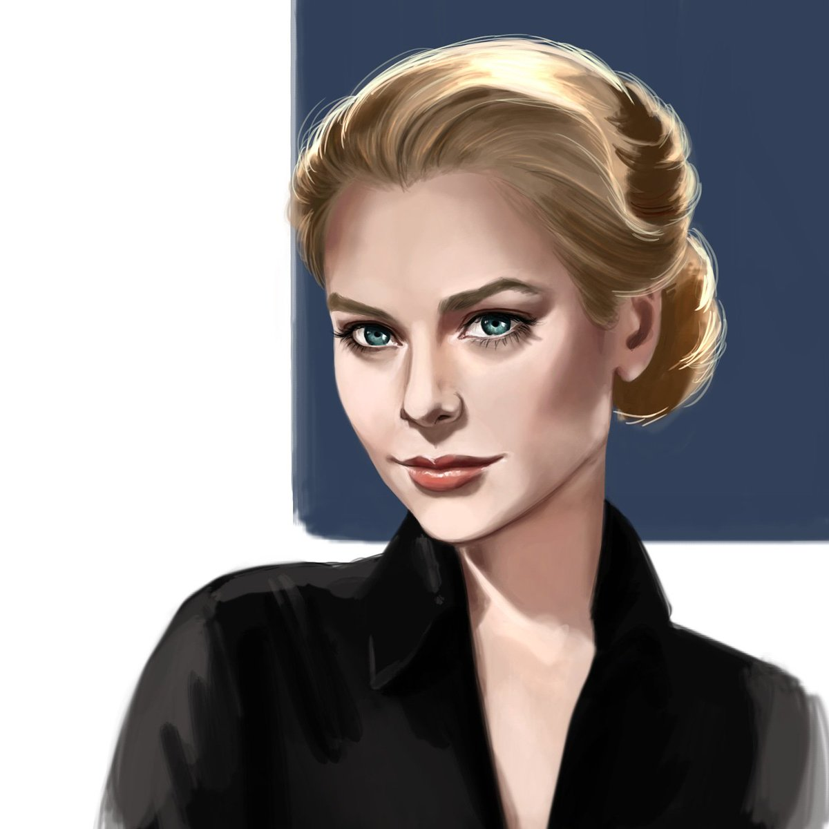 #gracekelly was a fun one to #draw  . . #digitalart #DigitalArtist #yeg #ArtistOnTwitter #arts #beautiful #illustration #Timeless #artistic #Grace #painting