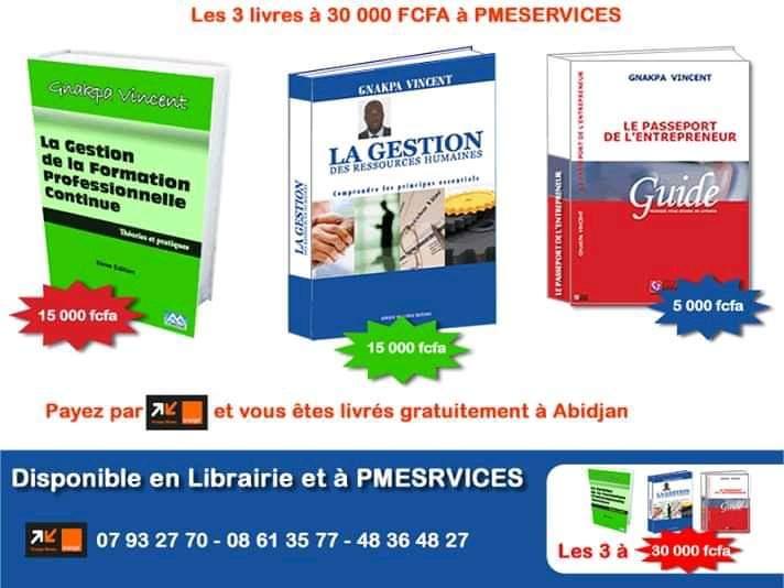 RT @pmeservicesplus: Promo #livre #entreprenariat et #GRH Contactez-nous pour passer vos commandes! Tel: 22 42 98 80/01 59 10 90 E-mail: info@pmeservices.net Site: http://www.pmeservices.net