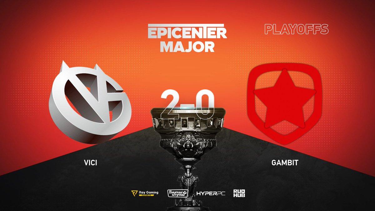 Vici Gaming vs Gambit Esports EPICENTER 2019