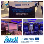 We're excited for the launch of the SWELL Project today-a major cross-border project to improve water quality in Carlingford Lough & Lough Foyle @IrishWater @AFBI_NI @loughsagency @east_border @Interreg_eu @SEUPB  📍Everglades Hotel, Derry-Londonderry 📅Tues 25th June  🕐2.30pm