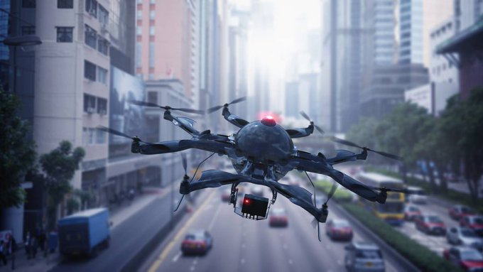 Medicamentos que llegan en drones, un método que ya funciona en Francia - via...