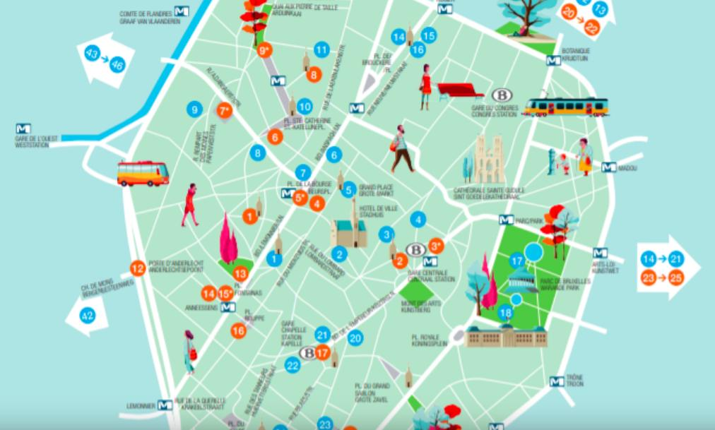💦A map of potable #water fountains in #Brussels! Don't forget to re-hydrate!  👉https://t.co/CQqsji3gZC https://t.co/Gp3BD6d2Zs